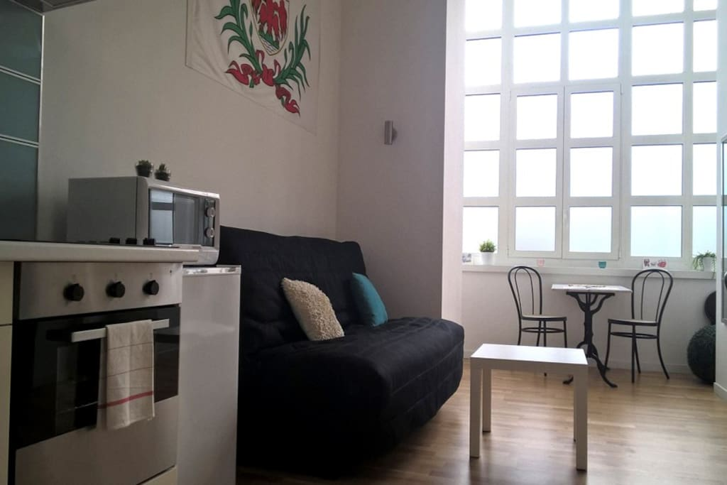 Modern studio in the heart of nice wohnungen zur miete in nizza provence a - Clic clac grand confort ...
