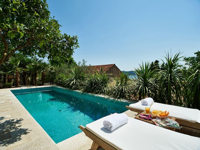 Villa Lemonia with Private Pool - Trsteno - Casa de camp