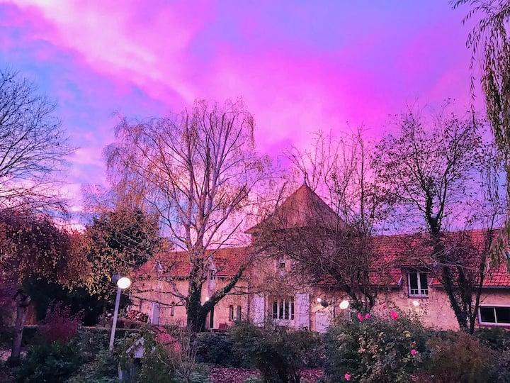 Chambre à louer  Ancienne abbaye #le_grand_ormont
