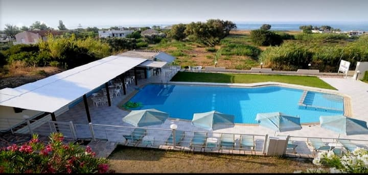 Andys Gardens - N-10 single room with sea view
