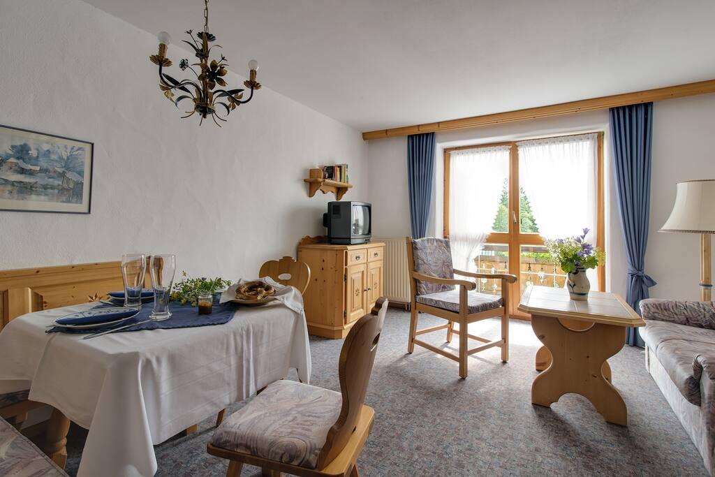 Wohnzimmer im Parkhotel Living Typ B