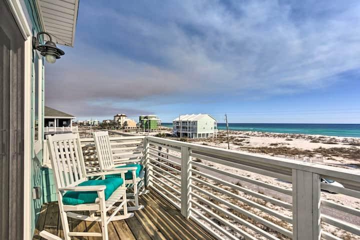 NEW! Modern Beach House w/ Gulf Views, Shared Pool