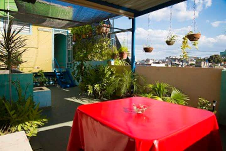 Hostal Mirador Balcony and Terrace.(Wi-Fi)