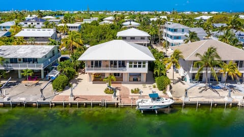 Waterfront Home Islamorada Walk To Private Beach