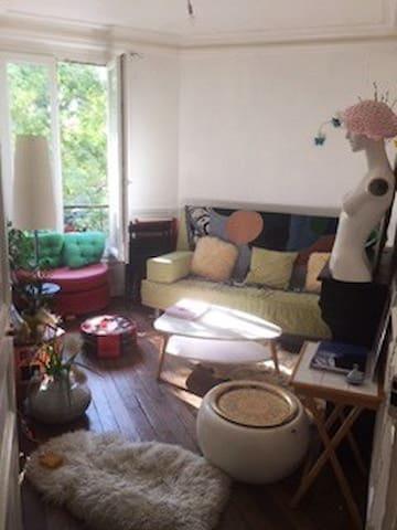 Appartement cosy et lumineux Alexandre Dumas