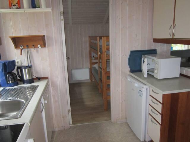 Küchentrakt mit Kinderzimmer