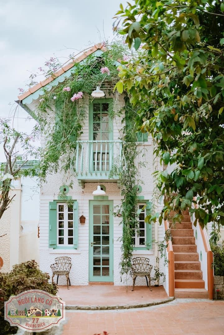 NGÔI LÀNG CỔ 77 HD-Old FrenchStyle Villa-DANDELION