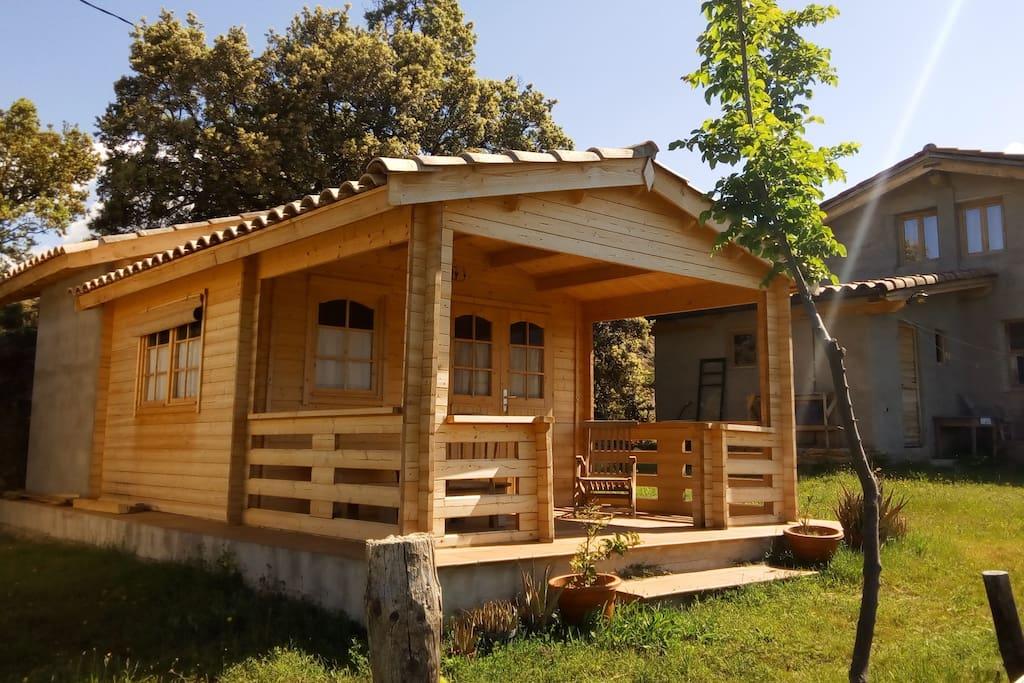 Guest cabin / Cabaña de huespedes