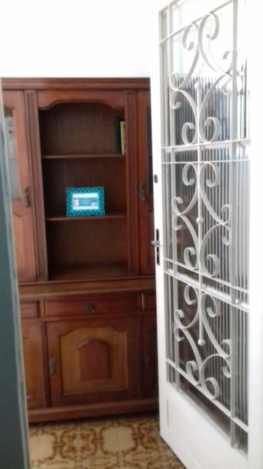 Porta de entrada do local