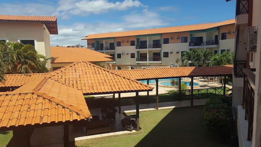Apartamento de 2 quartos minutos do Beach Park
