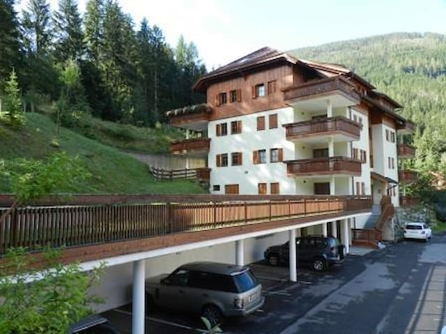 Alex- roof top apartment for 2/4 at the ski slopes