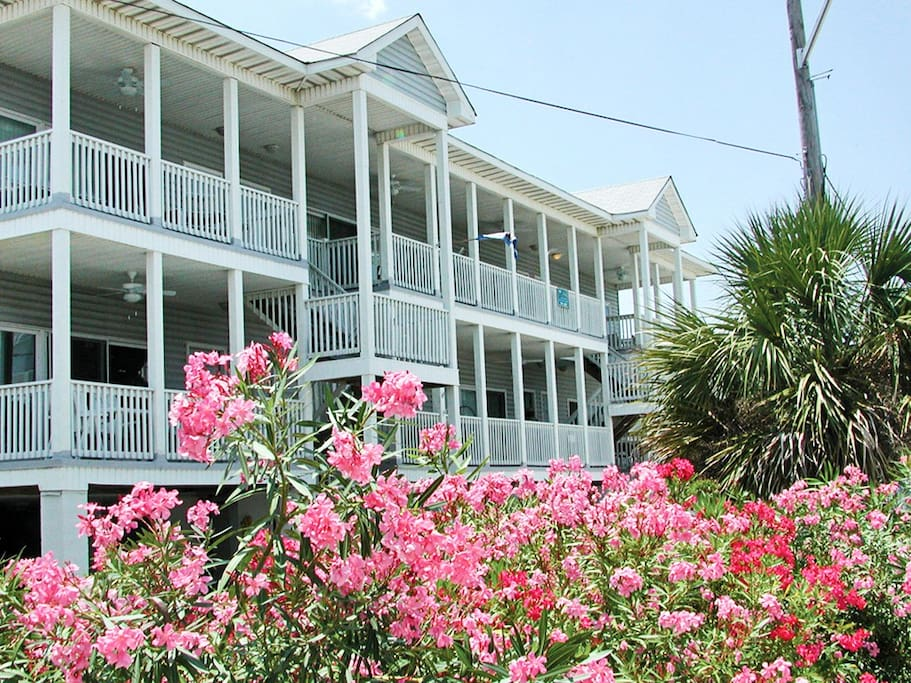 Tybee Sands 1A Exterior View
