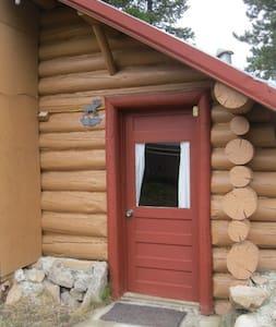 Studio historical mountain cabin - Cooke City-Silver Gate