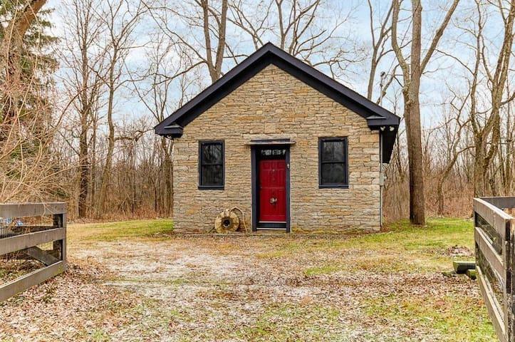 Stone Cabin - Liberty Schoolhouse - Delaware - Houten huisje