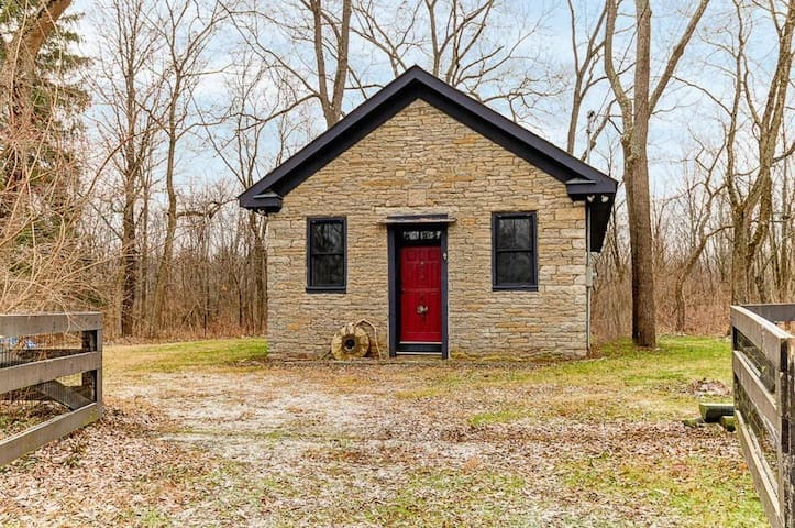 Stone Cabin - Liberty Schoolhouse