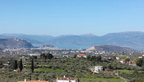 Nafplio House with view