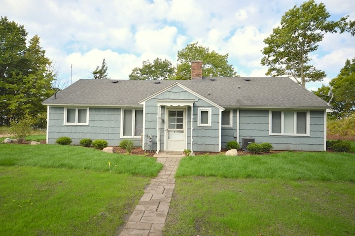 Fletcher Cottage has Private Lake Michigan Beach Frontage!