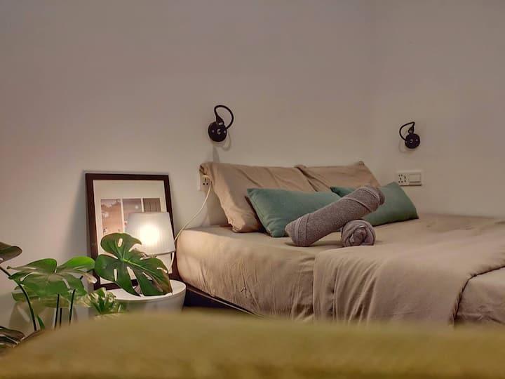 Queenbed Room For2 Near GleanaglesHospital & Imago