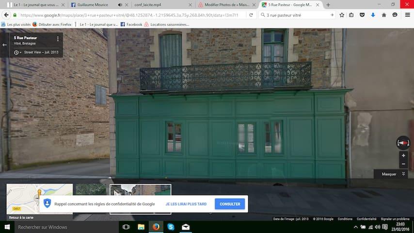 Maison Pasteur - Vitré - Rumah