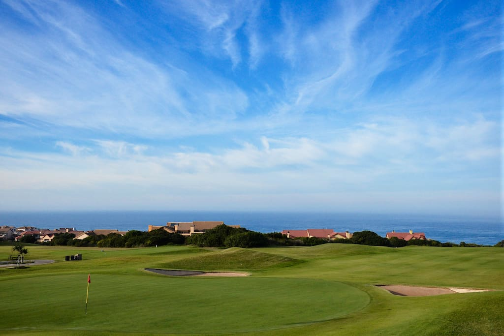 You can see the sea from every t-box on the golf course. Arguably one of the courses with the best sea views in the world.