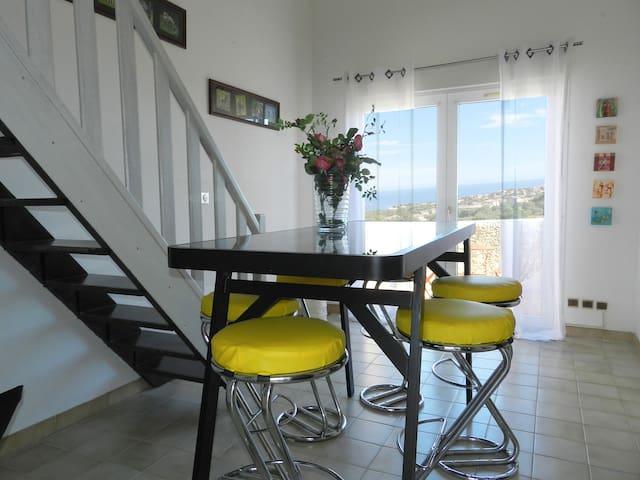 Bel appartement Monticello - Ile-Rousse (Corse) - Monticello - Apartemen