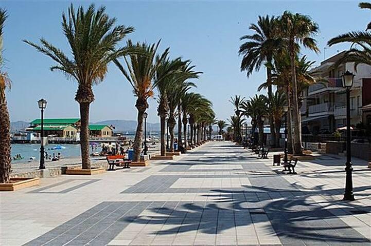 Piso centro playa en Los Alcázares - Los Alcázares - Apartment