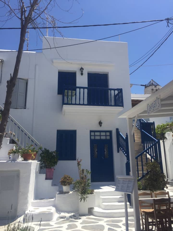 Beautiful and Spacious 3 BR House in the Heart of Mykonos!