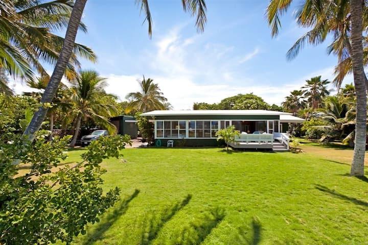 Oceanfront Puako Paradise - Welcome to Honu Kai