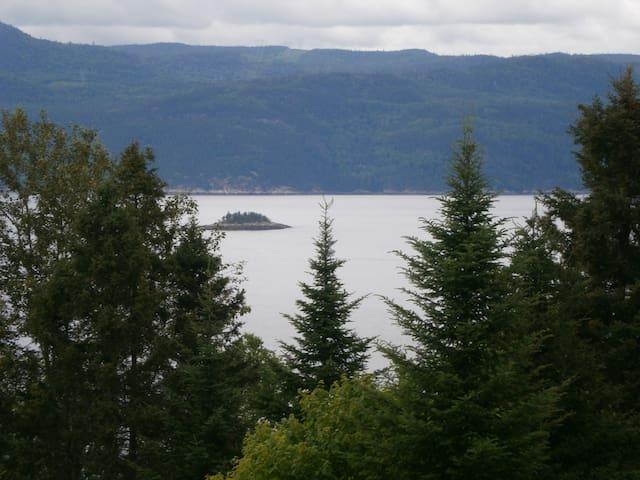 Panoramique du Fjord