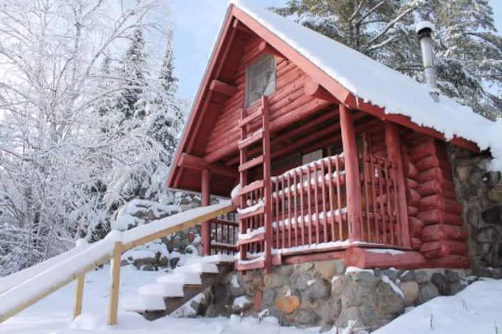 Rustic Wolverine Cabin