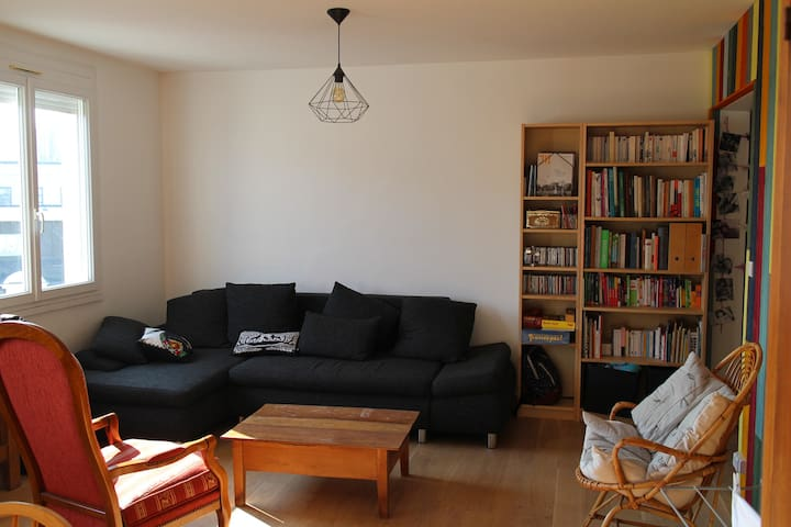 Appartement lumineux île de Nantes - Nantes - Huoneisto