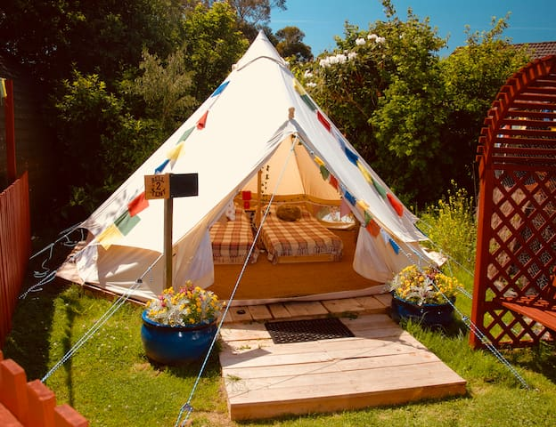 Bell tent 2 - Quercus Glamping, Ullapool