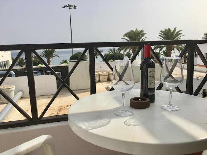 Apartment Balcony to the Sea. Puerto del Carmen