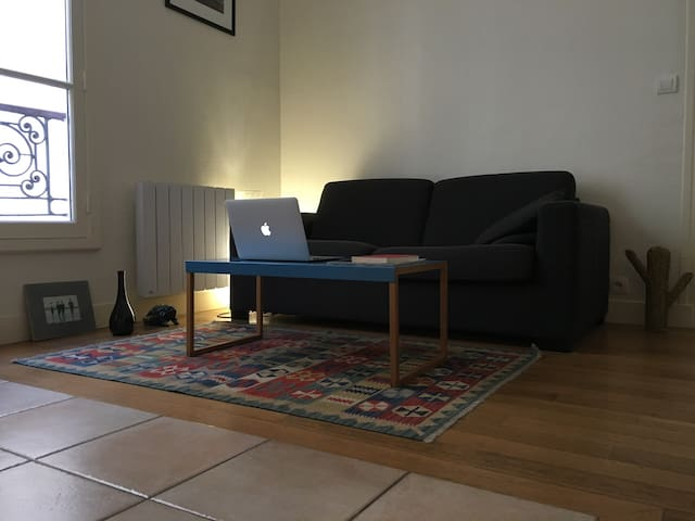 Sweet and cosy flat in the 10th district - Paris - Apartemen