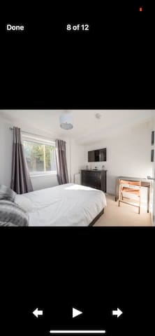 Luxury double room with tv and free parking