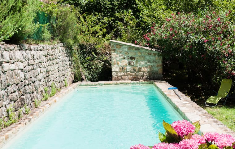 Gîte with private swimming pool in South Ardèche