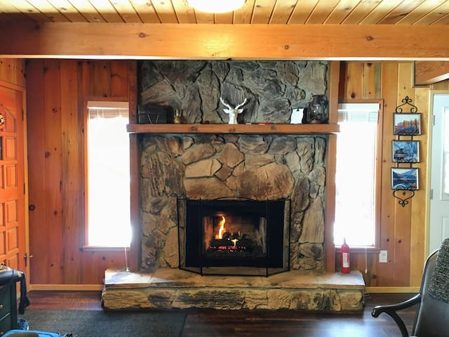 Throwback Cabin - Big Bear - Huis