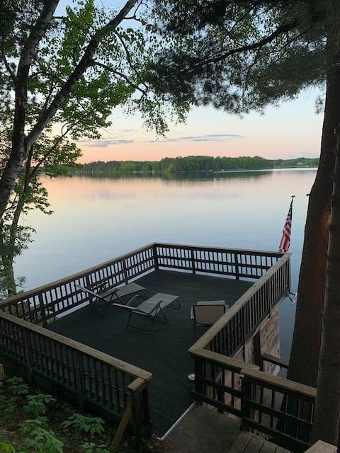 Whispering Pines on Sand Lake! Golf! Fish! Swim!