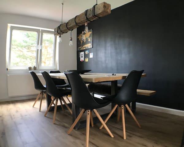 Moderne und vielseitige Wohnung