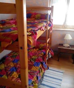 Habitación con literas para dos en Llanes - Llanes