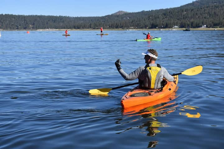 Big Bear Lake Cabin Safe Haven FREE Kayak! Pets OK