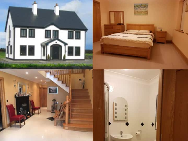 The Gleams 2 - 6km from M6. Exit Jct 19 Oranmore