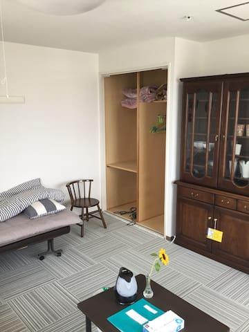 スペランツァ503号室、広くて、綺麗、景色のよい二人用の部屋
