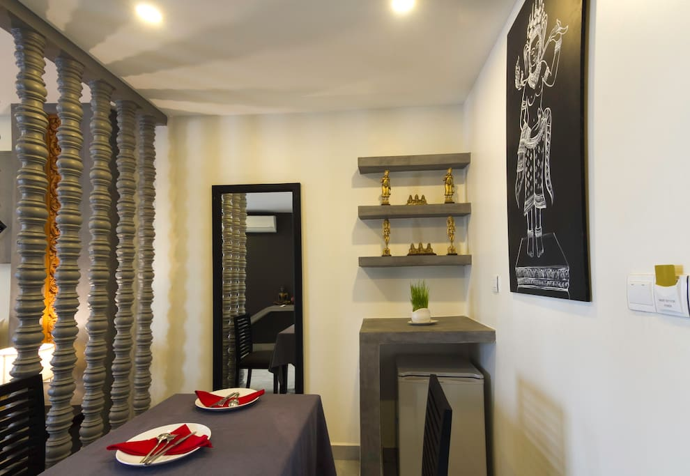 Dinning Table In Junior Suite