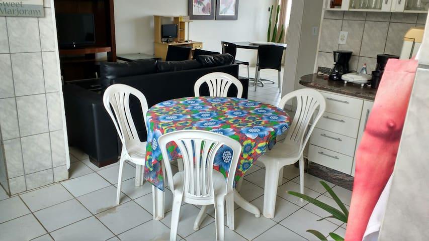 Apartamento de temporada em Cuiabá é o do Titi