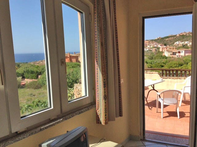 Wonderful vista unspoiled Sardinia - Isola Rossa - Appartement