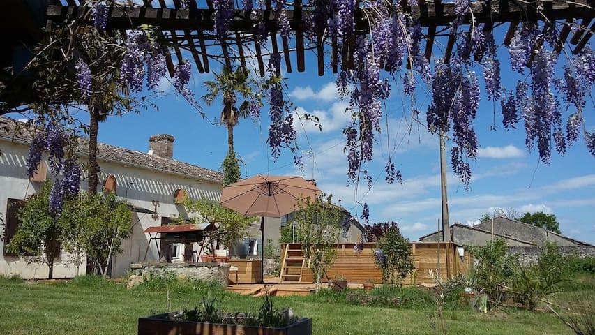 maison de vacances - Sainte-Gemme - Huis