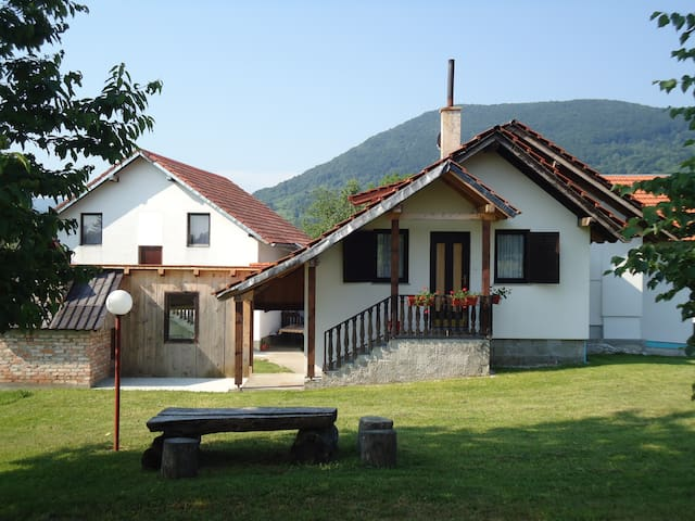 Double Room with Private Bathroom - Plitvička Jezera - House