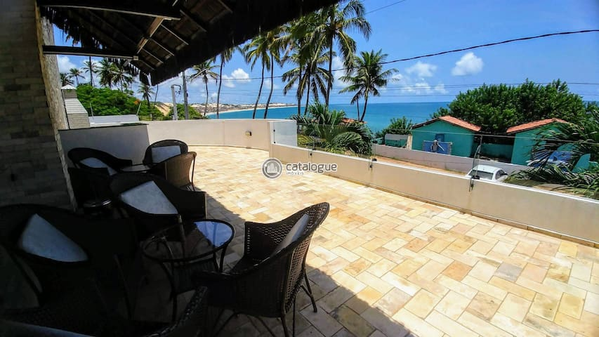 Cobertura duplex na Praia de tabatinga