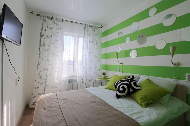 Комната с дизайнерским ремонтом - 烏蘭烏德 - 公寓